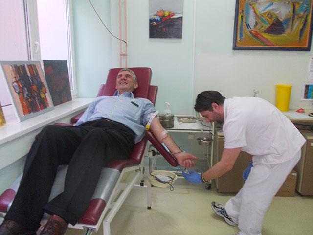 davanje krvi krv