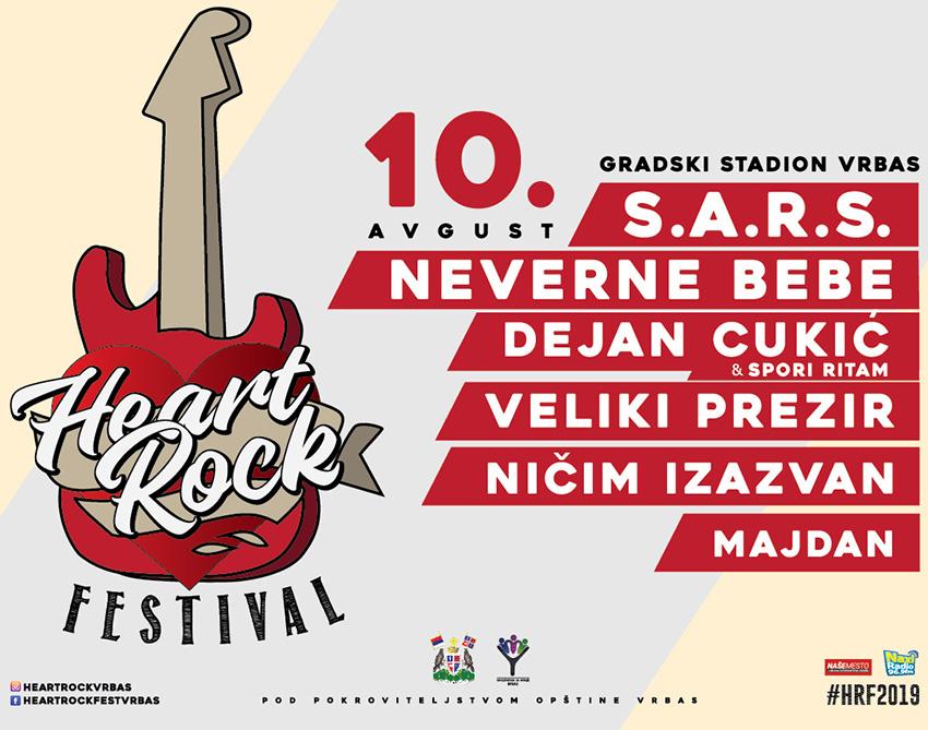 Najavljen Drugi Heart Rock Fest U Vrbasu Vidimo Se 10 Avgusta