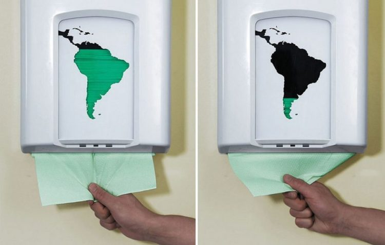sacuvaj papir, spasi planetu